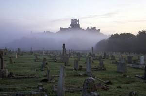 Halloween at Corfe Castle