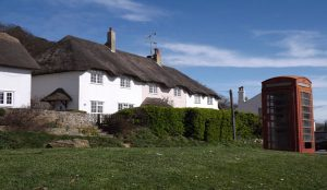 Lulwind Self Catering Cottage In Lulworth External View