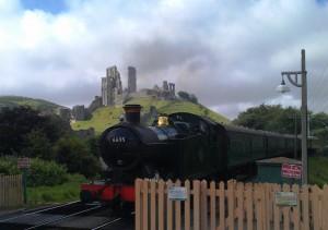 Paul Jackman Steam train Corfe
