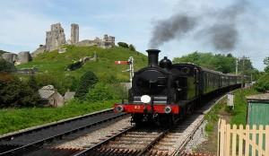 whats on corfe castle railway dorset