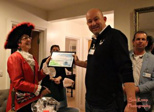 wareham town crier at best in urbeck awards night