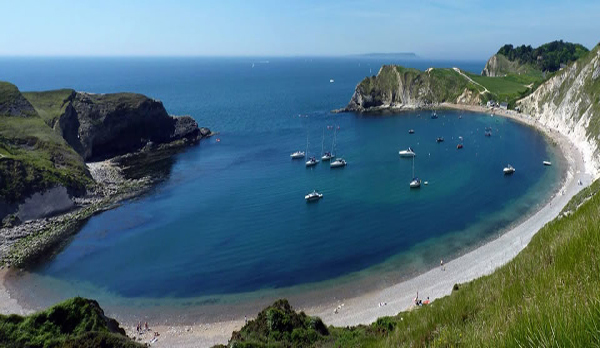 holiday cottage in lulworth cove king summer Lulworth Cove