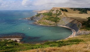Chapmans Pool on the Dorset Coast