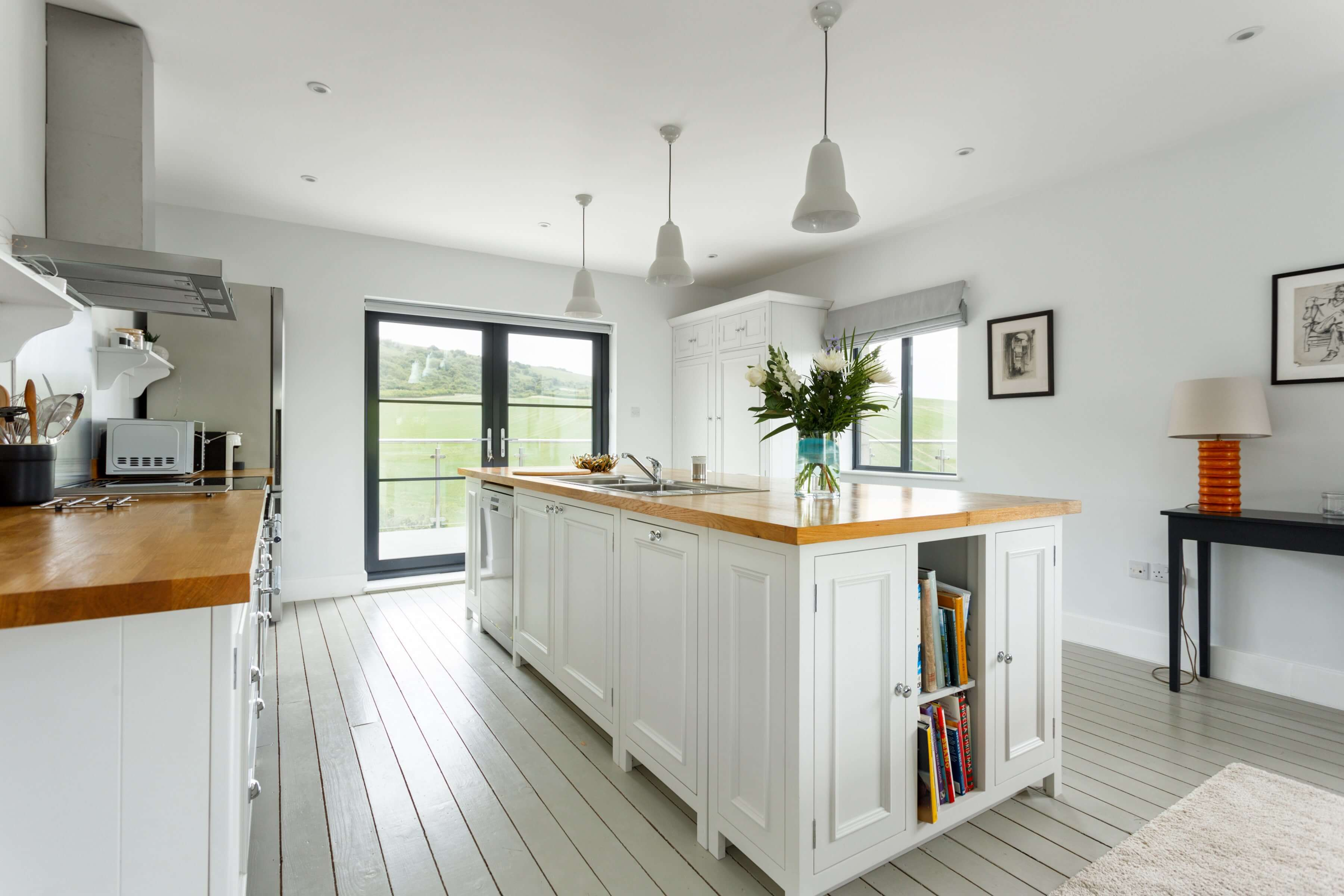 Luxury kitchen in a Dorset Cottage