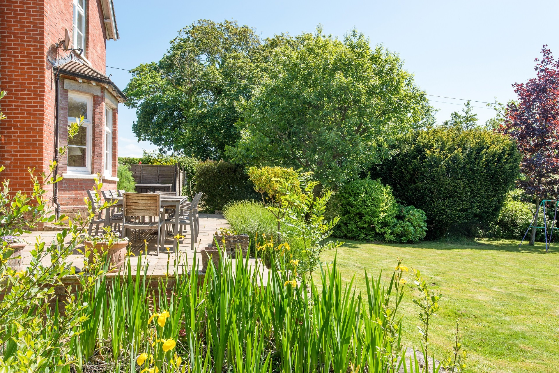 fabulous holiday home in church knowle garden 3