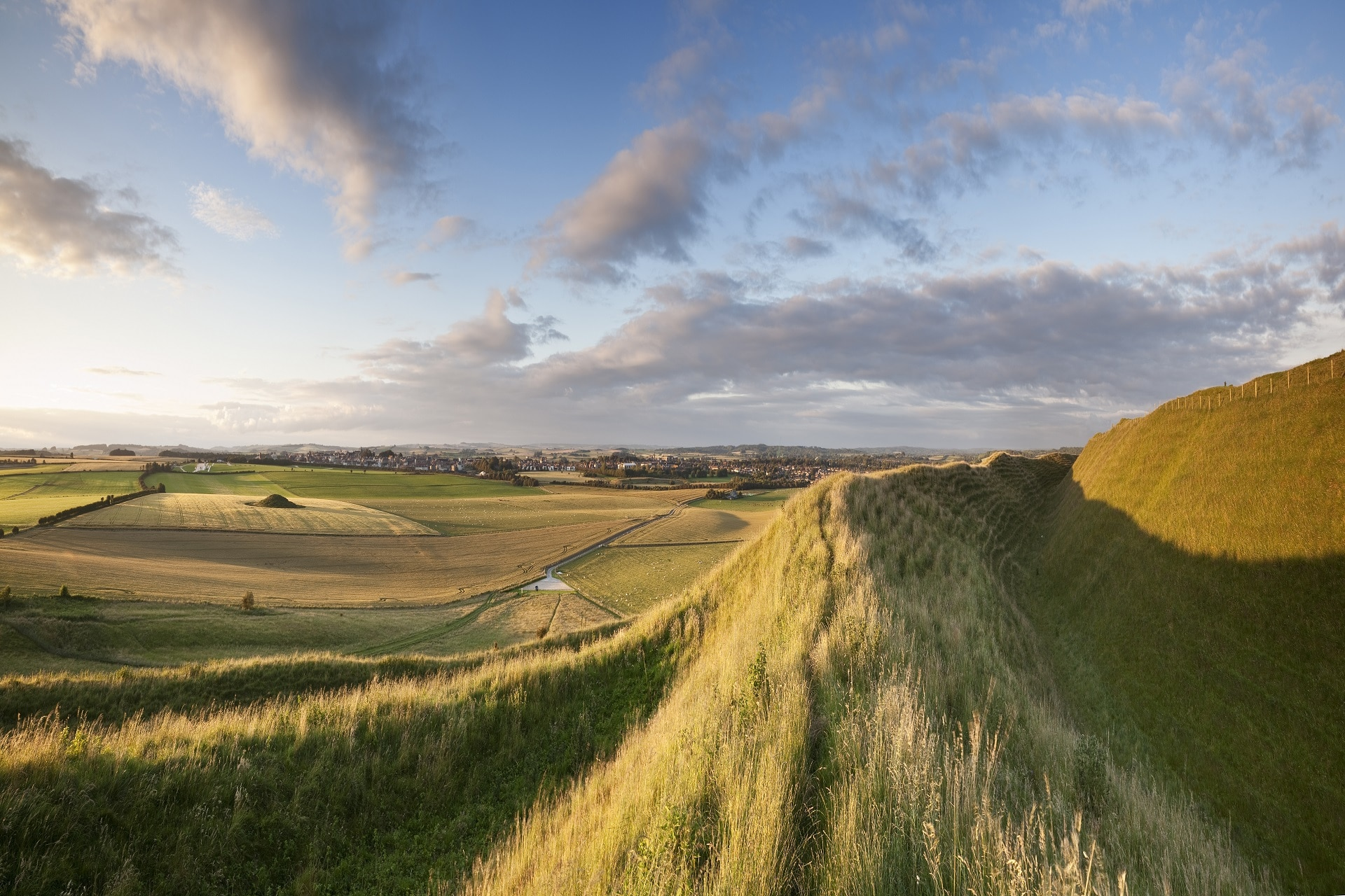 historic maiden castle