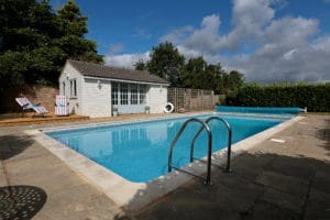 dorset holiday cottage with a swimming pool