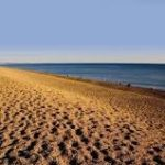 chesil beach near weymouth