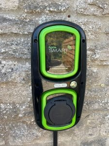 ev charger daisy cottage